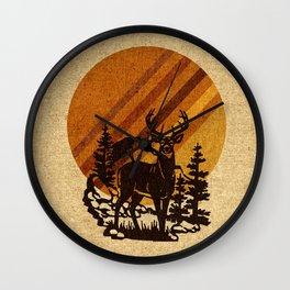 YELLOWSTONE Wall Clock