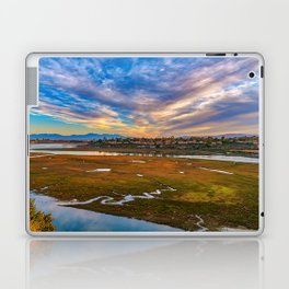 Big Sky Over the Back Bay Laptop & iPad Skin