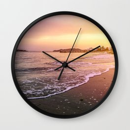 Peaceful Paradise Wall Clock