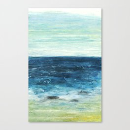 Horizon at the Baltic sea Canvas Print