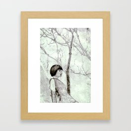 those trees and you Framed Art Print
