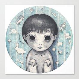 Little Ghost Boy Toshio Canvas Print