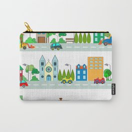 Cars in the town Carry-All Pouch