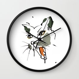 This is the cat that killed the rat..... Wall Clock