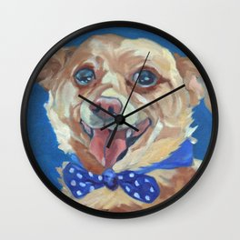 The Chihuahua A Day at Play Wall Clock