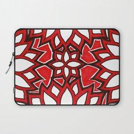 red lotus Laptop Sleeve
