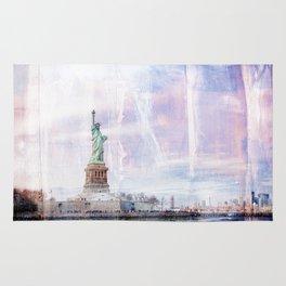 Statue of Liberty Art Rug