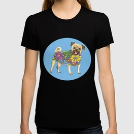 The Pugster (Blue) T-shirt