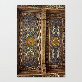 Sicilian ART NOUVEAU Canvas Print
