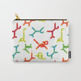 Balloon animals pattern #3 Carry-All Pouch