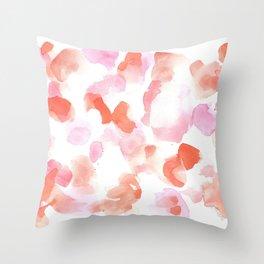 180527 Abstract Watercolour 19 Throw Pillow