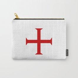 templar knights cross Carry-All Pouch
