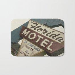 Florida Motel Bath Mat