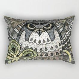 Falcon on clover Rectangular Pillow