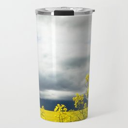 Fields of yellow - Floral Photography #Society6 Travel Mug