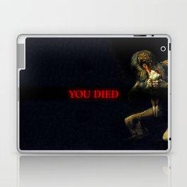You Died Dark Soul Laptop & iPad Skin