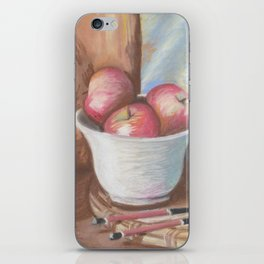 Bowl of Apples iPhone Skin