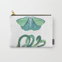 Moth and Snake Carry-All Pouch