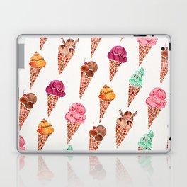 Ice Cream Cones – Rainbow Palette Laptop & iPad Skin