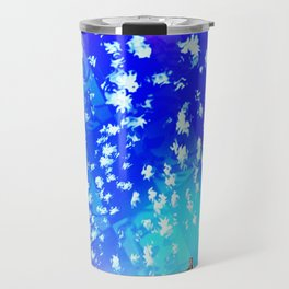 """""""Pastiche Takes Flight In Oz""""  by surrealpete Travel Mug"""