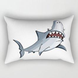 Shark cartoon Rectangular Pillow