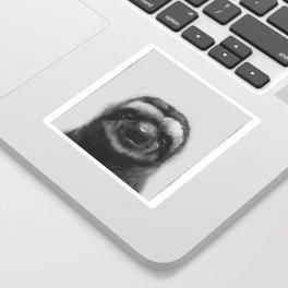Sloth #1 (B&W) Sticker