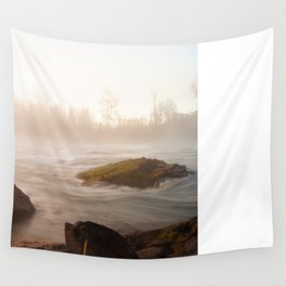 Misty River Wall Tapestry
