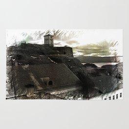 Fredriksten fortress, Halden Norway Rug