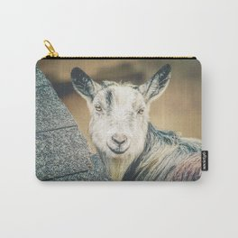 Shy Goat Carry-All Pouch