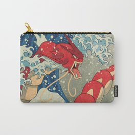 The Great Red Wave Carry-All Pouch