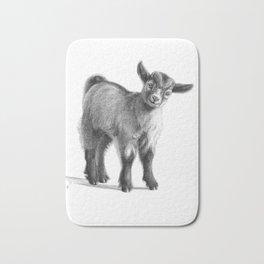 Goat baby G097 Bath Mat