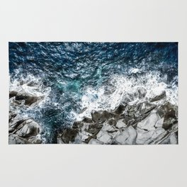 Skagerrak Coastline - Aerial Photography Rug