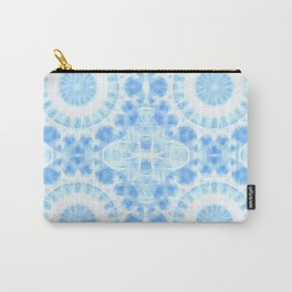Peaceful blue mandala Carry-All Pouch