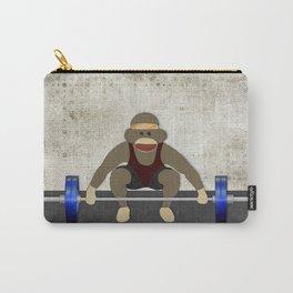 Sock Monkey Bodybuilder Carry-All Pouch