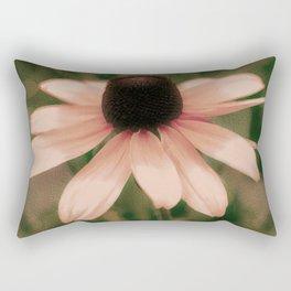 Soft Delicate Pink Daisy Rectangular Pillow