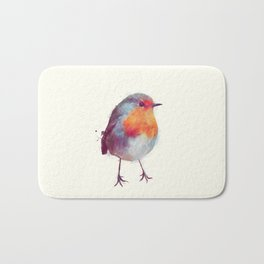 Winter Robin Bath Mat
