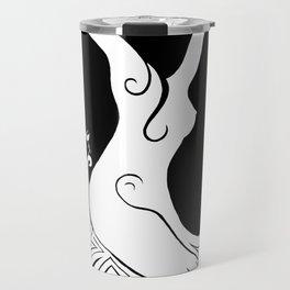 Daphne (en blanc) Travel Mug