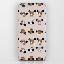 OLYMPIC LIFTING English Bulldog iPhone Skin