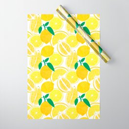 Lemon Harvest Wrapping Paper