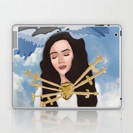 Angelic Del Rey Laptop & iPad Skin
