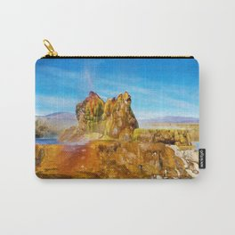 Fly Geyser Watercolor Carry-All Pouch