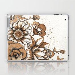 Coffee Art- Flowers Laptop & iPad Skin