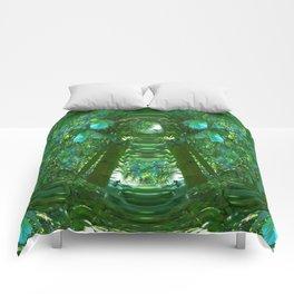 Abstract Gazebo Comforters