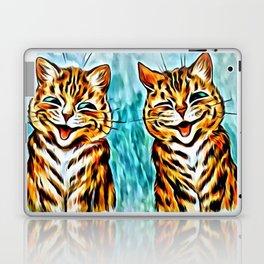 "Louis Wain's Cats ""Winking Cats"" Laptop & iPad Skin"