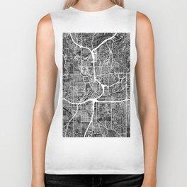 Atlanta Georgia City Map Biker Tank