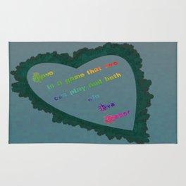 Love Wins - Eva Gabor Rug
