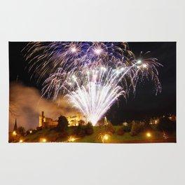 Castle Illuminations Inverness Scotland Rug