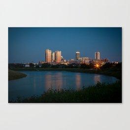 Fort Worth, Texas Canvas Print