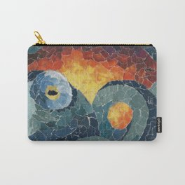 Octo Collage Carry-All Pouch