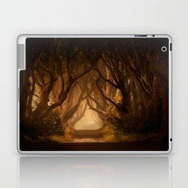 Sunny morning at Dark Hedges Laptop & iPad Skin